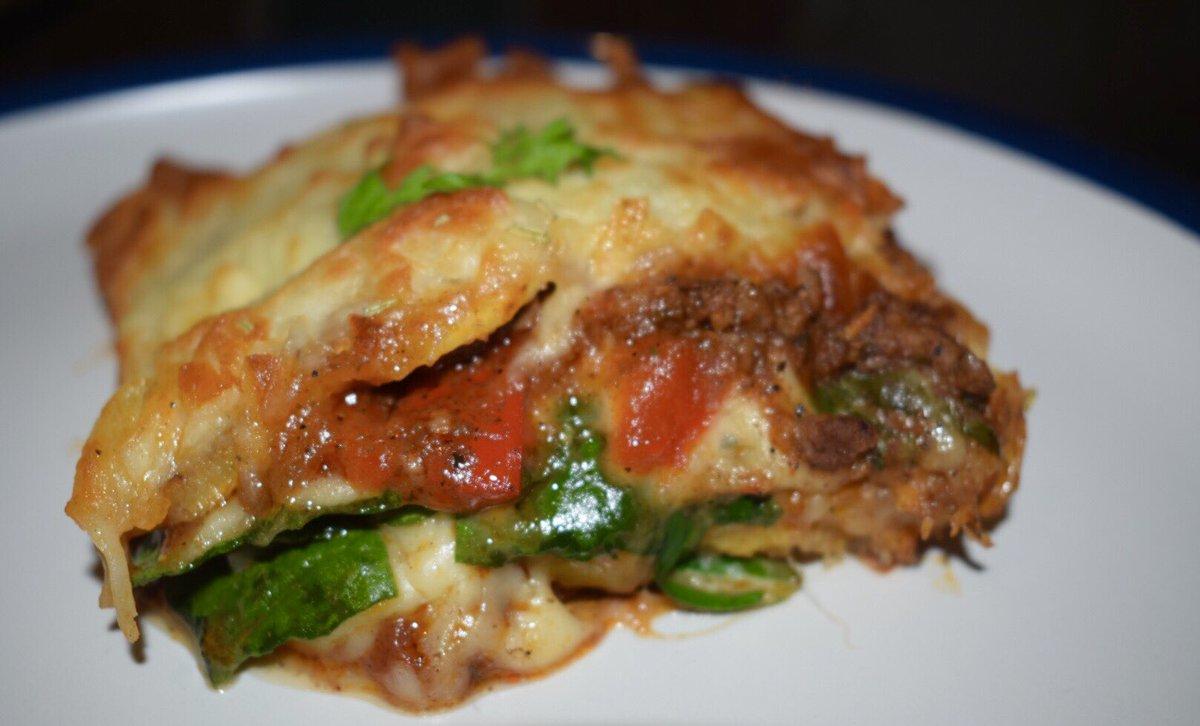 My Take On Pastelón (Sweet Plantain Lasagne)