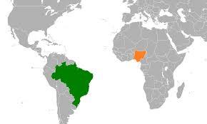 Brazil Naija map