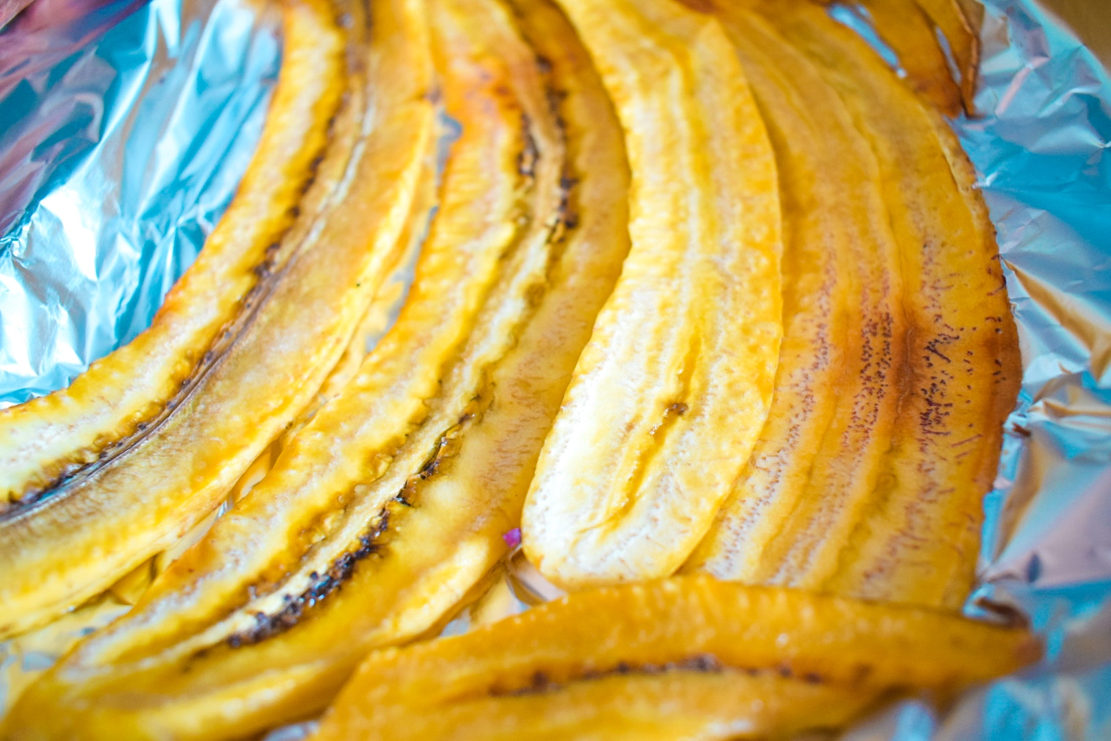 Grilled Plantain in the oven