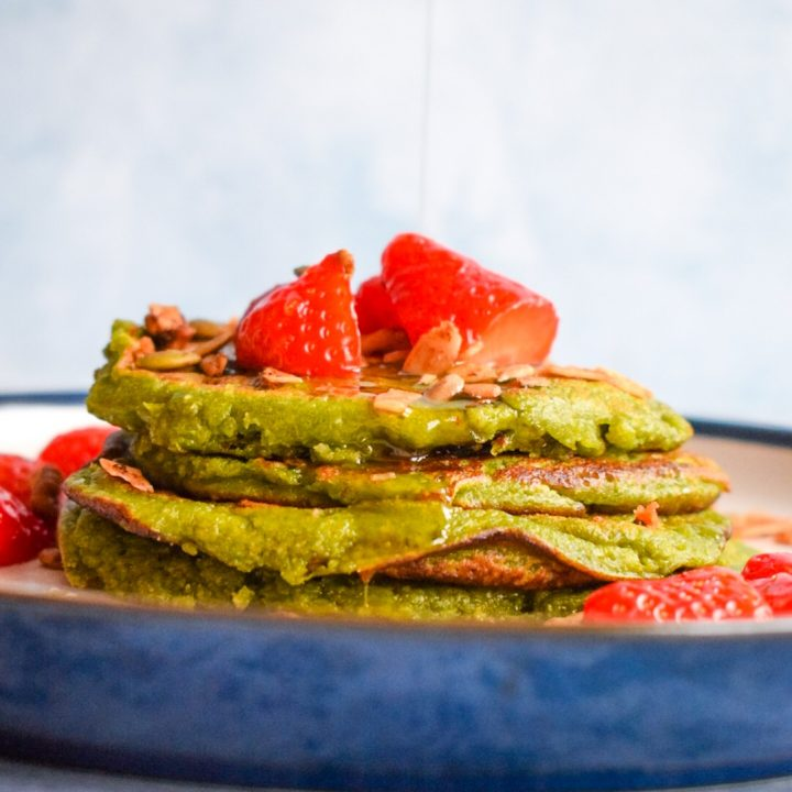 Picture of Green Spinach and Oats Pancakes