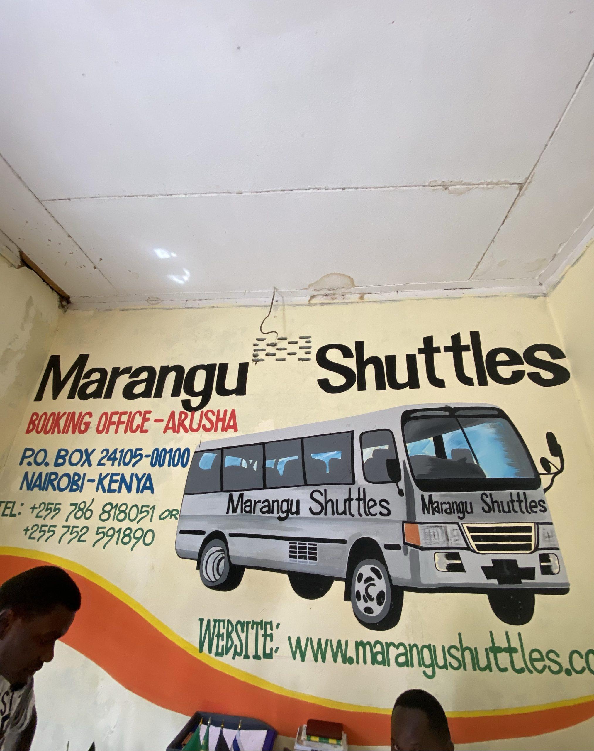 Marangu shuttle bus