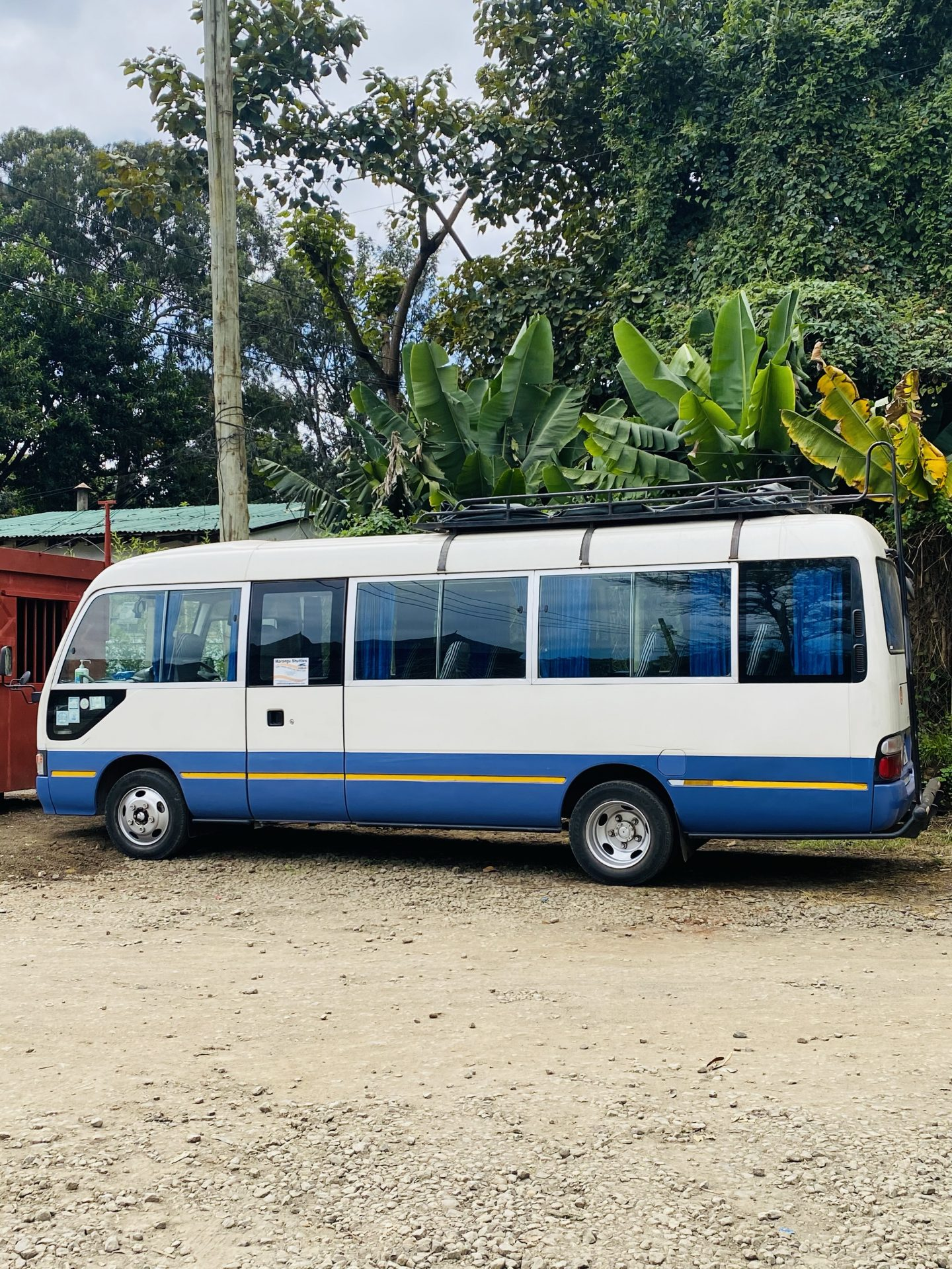 How To Take The Shuttle Bus From Arusha To Nairobi